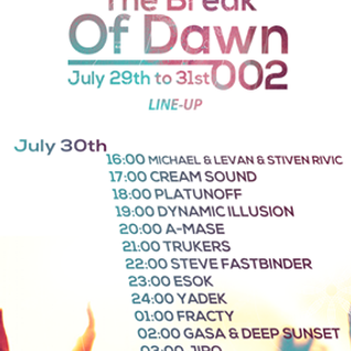 "JIRO-GUEST MIX FOR ""THE BREAK OF DAWN 002"" @ PURE FM (30-07-16)"