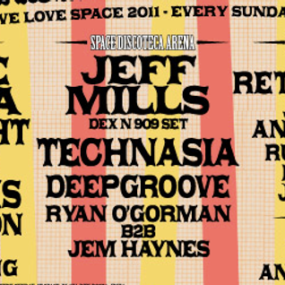 2011-08-28 Deepgroove Live at We Love... Space Part 1
