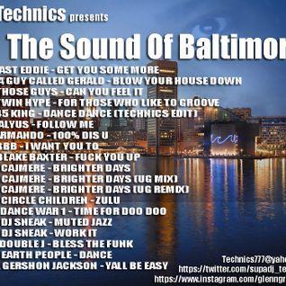 DJ Technics - The Sound Of Baltimore Volume 1