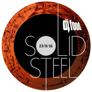 Solid Steel Radio Show 23/9/2016 Hour 1 - DJ Food