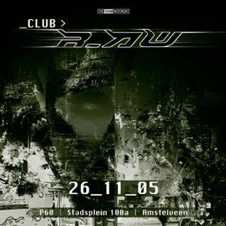Unexist @ Club r_AW (26-11-2005)