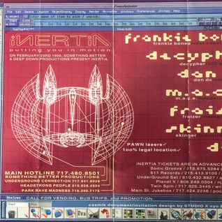 Frankie Bones & M.A.C.E Live @ Inertia