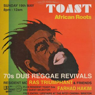 LIVE at TOAST 19/05/13 wt GENERAL SLATER / CHAMPIAN / DADDY RANKS