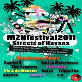Vic & De Meester - Live @ MZN Festival Delft 30-06-2011