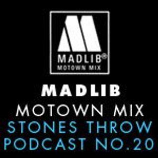Stones Throw #20 Motown mix by Madlib