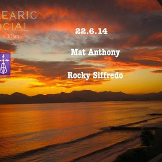 "Rocky Siffredo @ Purple Radio ""Balearic Social""  morning show 22.6.2014"