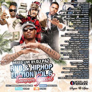 DJ PAZ RNB & HIP HOP VOL.6 (SUMMER SPECIAL)