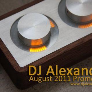 DJ Alexandar - August 2011 Promo