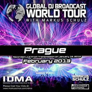 Global DJ Broadcast Feb 07 2013 - World Tour: Prague