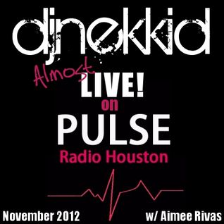 "DJ Nekkid ""Almost Live"" on Pulse Radio (Nov. 2012)"