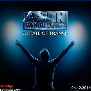 Armin Van Buuren – A State Of Trance, ASOT 692 – 04-12-2014