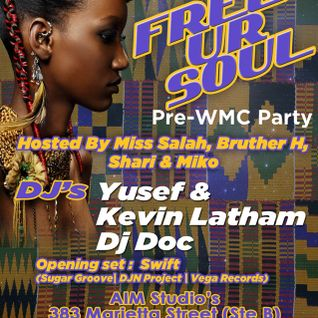 Free Ur Soul Promo Mix Sat. March 9th Live@ AIM Studios