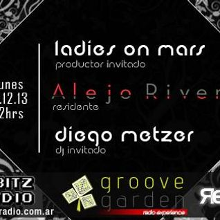 Diego Metzer - Guest mix for Groove Garden (8bitzRadio) [15th Dec 2013]