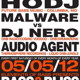 Malware vs Dj Nero w/ MC Precision & Orb1x @ Bass & Bliss 05/05/12