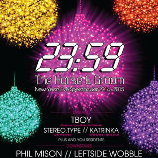 Horse and Groom NYE 2014/15 promo mix 3/ Leftside Wobble party mix