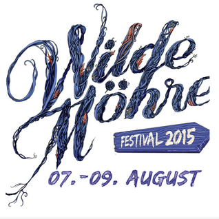 "Red pig flower: This is my festival at ""Wilde Möhre Festival"""
