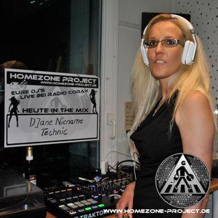 DJane Nicname Technic @ Homezone 24.09.2016 > Radio Corax