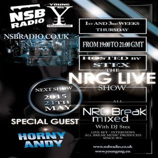 NSB Radio - NRG LIVE SHOW - 21th May 15 - Stex DJSet