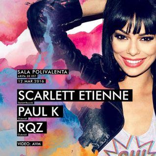 Scarlett Etienne - Live @ Club Midi (Romania) - 12.03.2016
