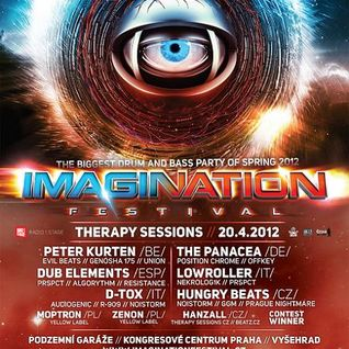 Imagination Festival - Therapy Sessions DJ contest [27.2.2012]