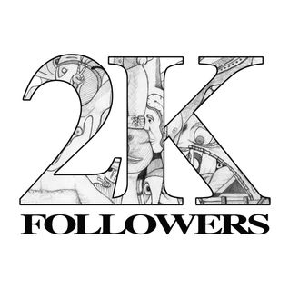 More than 2000 followers!! I love you all !!!