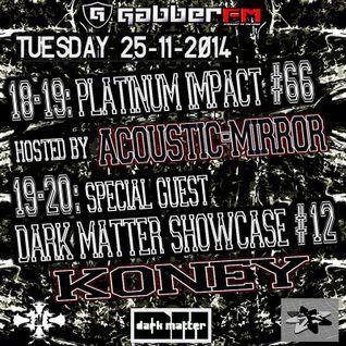 The Antemyst - Platinum Impact 66 (Gabber.fm) 25-11-2014