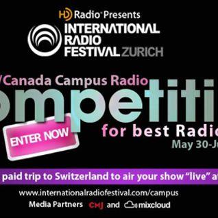 IRF Search for the Best US/Canada College Radio Jockey - Gradient Echo Radio 07-20-13 WPRK Studios