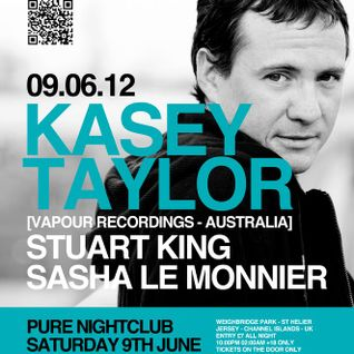 @PureNightclub warming up Kasey Taylor [ Vapour Recordings ]