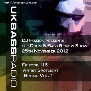 Ep. 116 - Artist Spotlight on Break, Vol. 1