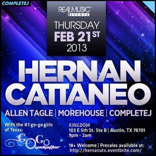 CompleteJ @ Kingdom Austin (Hernan Cattaneo)
