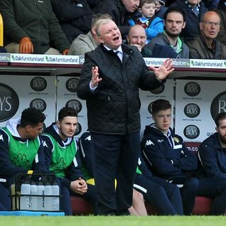 """Evans: """"inability to take chances"""" cost #LUFC v Burnley"""