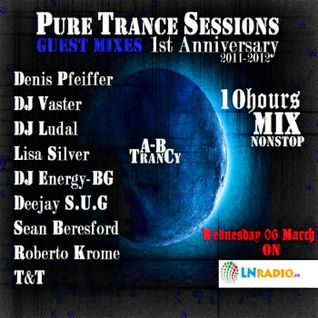 Pure Trance Sessions 1st Anniversary Celebration DJ Vaster Guest Mix
