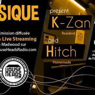 So Deep Radioshow live from La Fête de la Musique @ Madwood Overtime K-Zan B2B Hitch Part.2