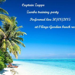 Captain Zappo - Zumba training party Live