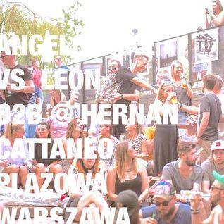 Angelo Mike vs Leon b2b @ Hernan Cattaneo - Plażowa Warszawa 19.08.2015