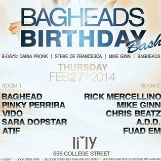 ATIF LIVE AT LILY LOUNGE BAGHEAD'S BIRTHDAY