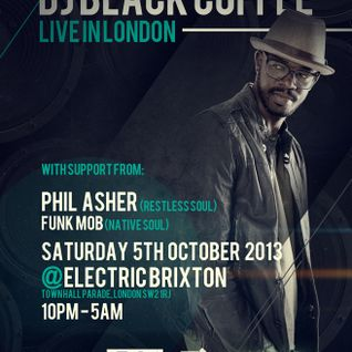 Native Soul - Saturday 5th October 2013 @Electric Brixton SW2 1RJ