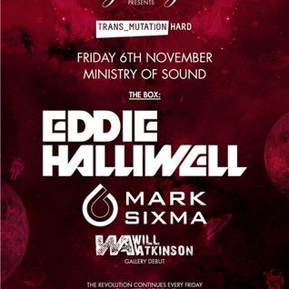 Mark Sixma - Live @ Ministry of Sound (London) - 06.11.2015