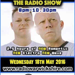 RW075 - THE JOHNNY NORMAL RADIO SHOW - 18TH MAY 2016 - RADIO WARWICKSHIRE