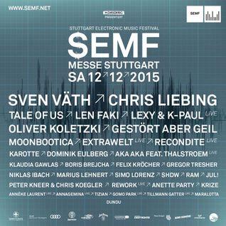 Dominik Eulberg - Live @ Stuttgart Electronic Music Festival 2015 - 12.12.2015