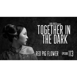 Red Pig Flower - Together in the dark 113 by Luigi Rossi
