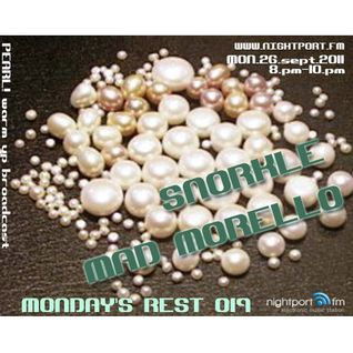 Mad Morello – Live @ Nightport.Fm Monday's Rest 019 (2011-09-26)