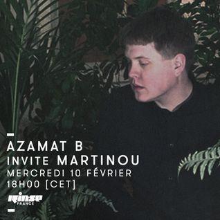Azamat B invite Martinou - 10 Février 2016