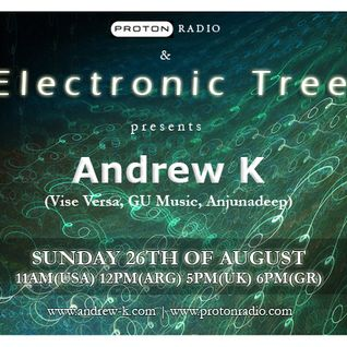 Andrew K @ Electronic Tree, Proton Radio (26 Aug 2012)