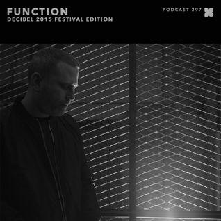 XLR8R Podcast 397: Function - Decibel 2015 Festival Edition