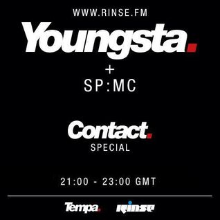 Youngsta feat. SP:MC (Rinse, Tempa Rec.) @ Contact Special, Rinse.fm 106.8 FM - London (02.02.2015)