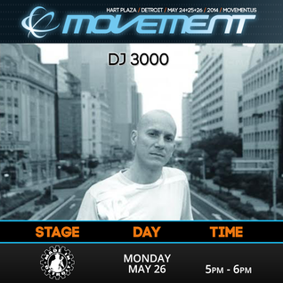 DJ 3000 - Made In Detroit Stage - Movement 2014