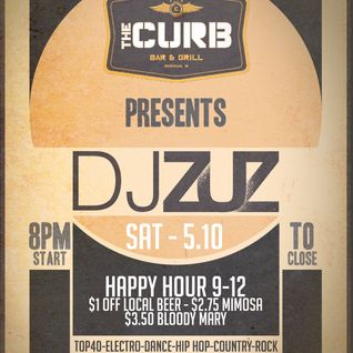 DJ Zuz Live from The Curb Bar & Grill 5-10-14