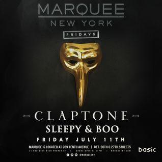 Claptone July 2014 #MarqueeMinimix