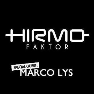Hirmo Faktor @ Radio Sky Plus 23-11-2012 - special guest: Marco Lys
